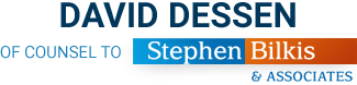 Logo of David Dessen of Counsel of Stephen Bilkis & Associates